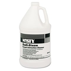 Redi-Steam Carpet Cleaner, Pleasant Scent, 1gal Bottle, 4/Carton
