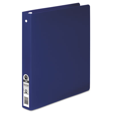 ACCOHIDE Poly Round Ring Binder, 35-pt. Cover, 1