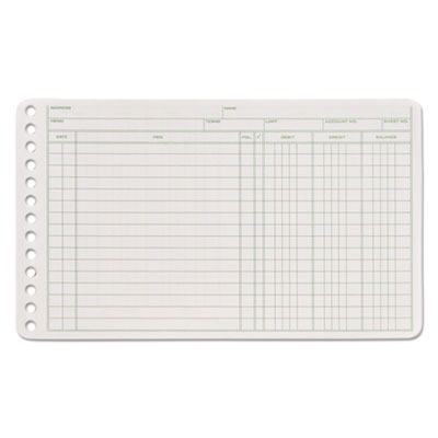 Ledger Sheets