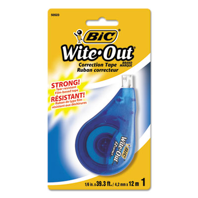 Wite-Out EZ Correct Correction Tape, Non-Refillable, 1/6