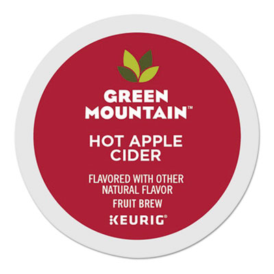 Hot Apple Cider K-Cups, 24/Box